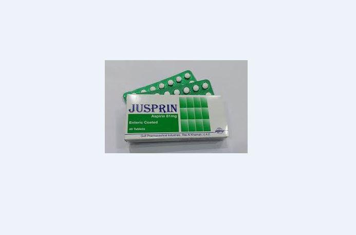 UAE health authorities withdraw Jusprin 81 mg tablet